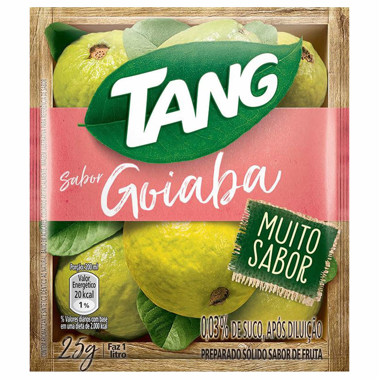 Refresco em Po Tang 25G Goiaba