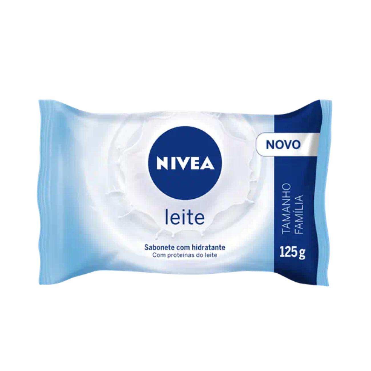 Sabonete Nivea Hidratante Leite 125g