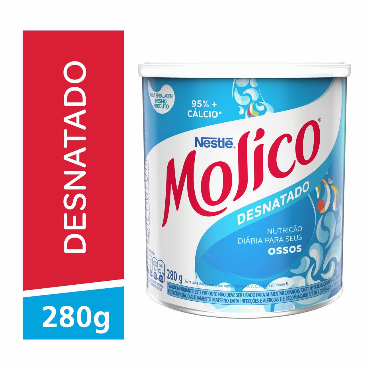 Leite Po Molico 280G Desnat.