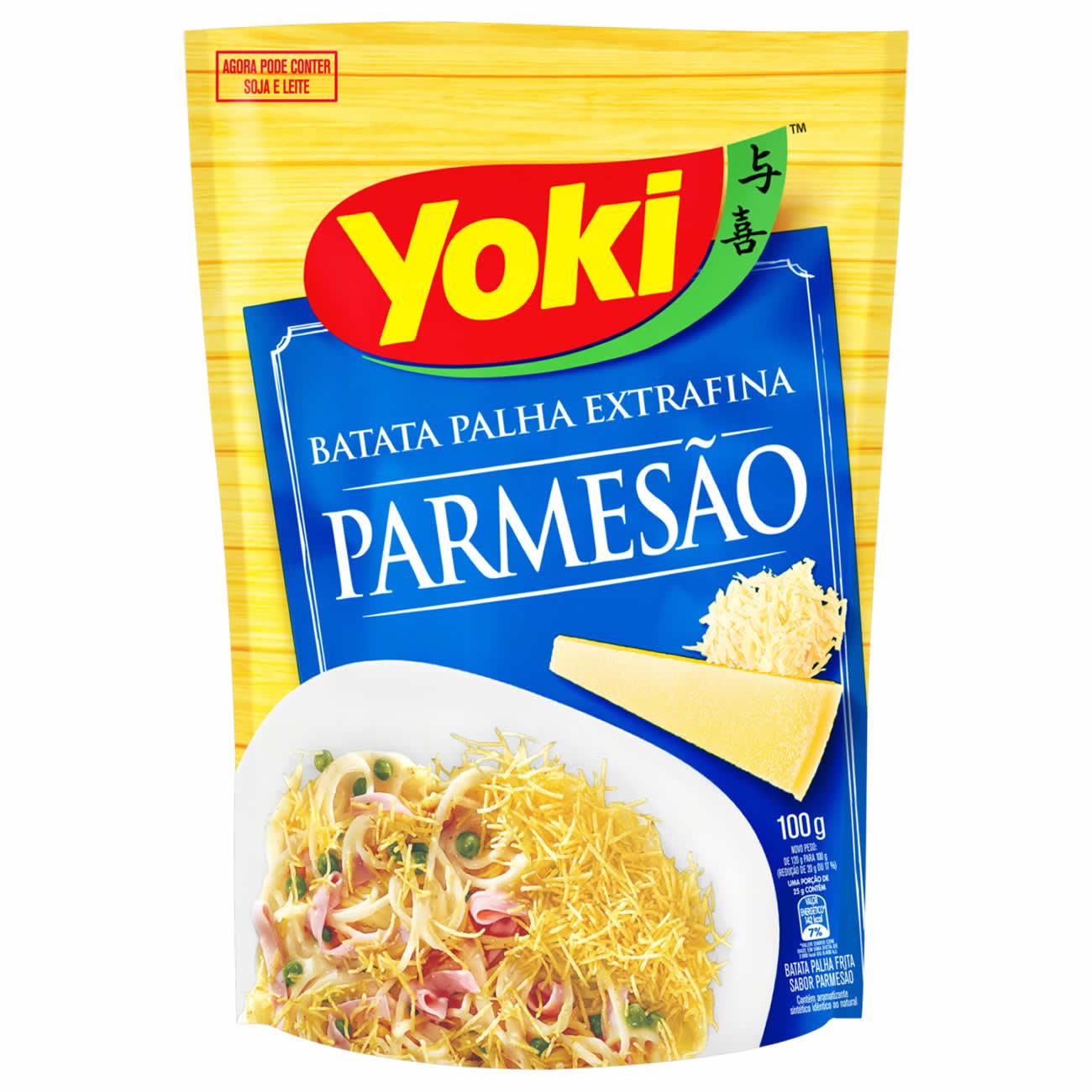Batata Palha Yoki Parmesao 100G
