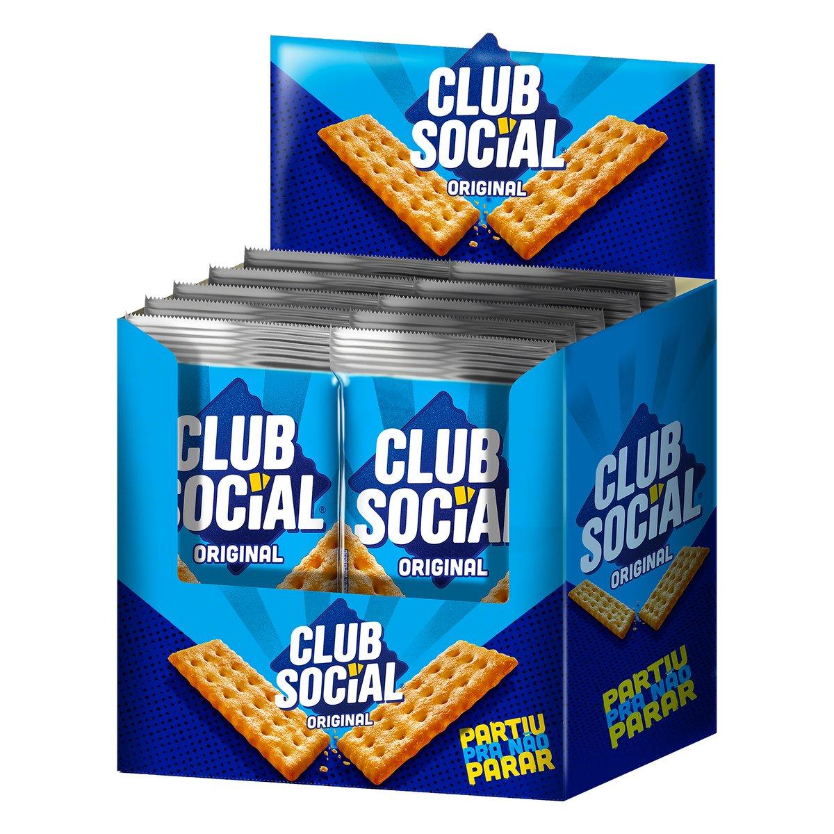 Biscoito Club Social Original 288G