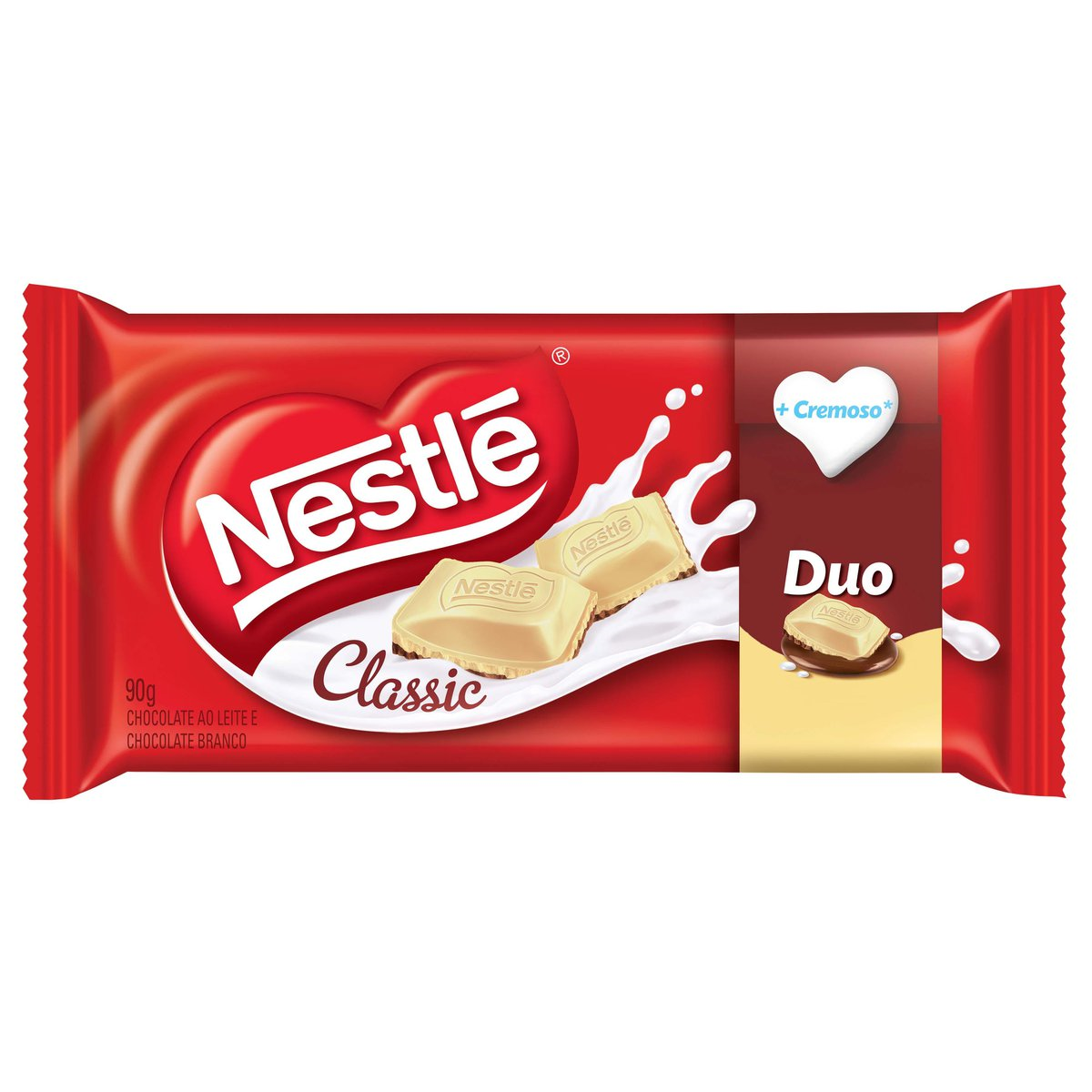 Chocolate Nestle 90g Classic Duo Tablete