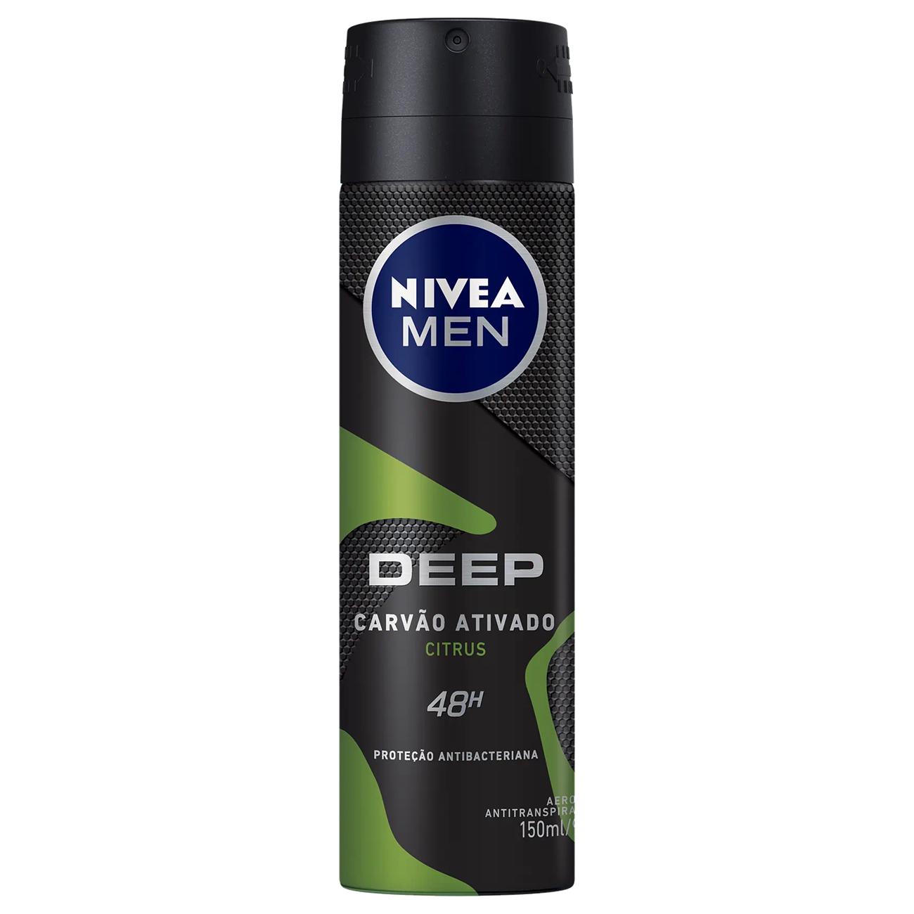 Desodorante Aerosol Nivea Deep Citrus 150ml