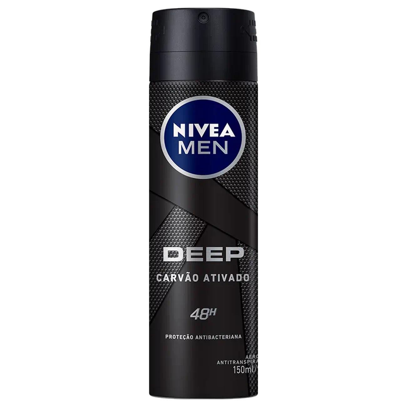 Desodorante Aerosol Nivea Deep Original 150ml