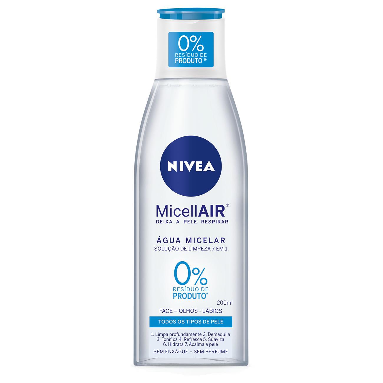 Agua Micelar Nivea Micellair 200ml