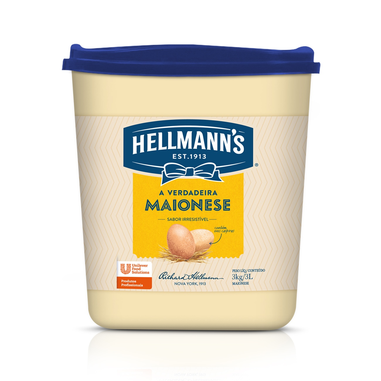 Maionese Hellmanns 3kg