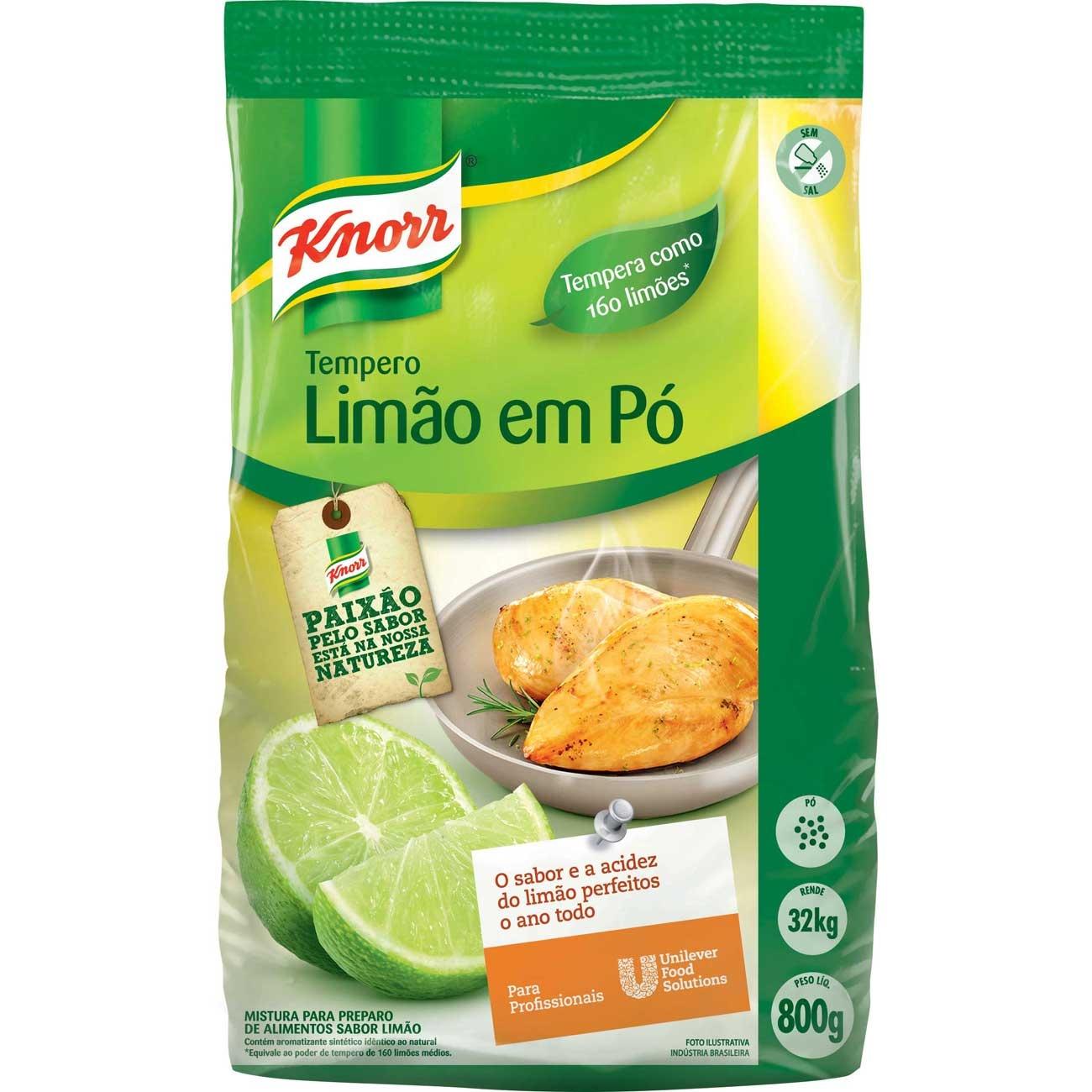 Tempero em Po Knorr Limao 800g