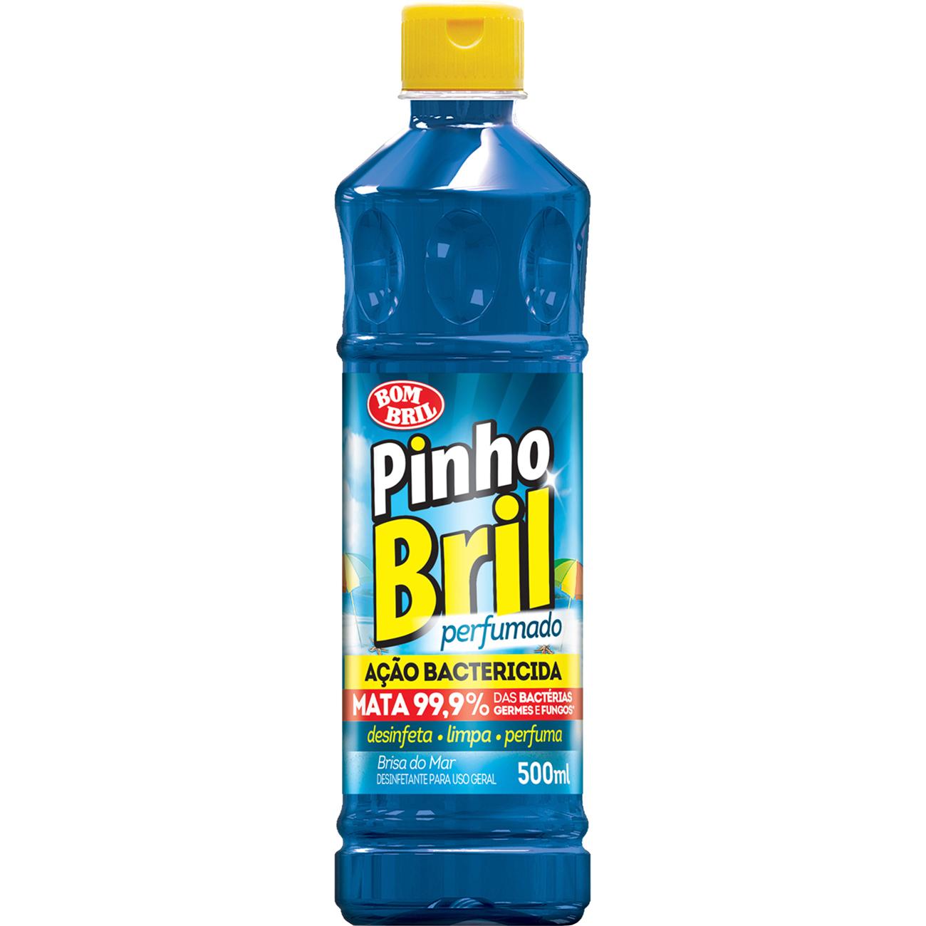 Desinfetante Pinho Bril 500Ml Brisa Do Mar