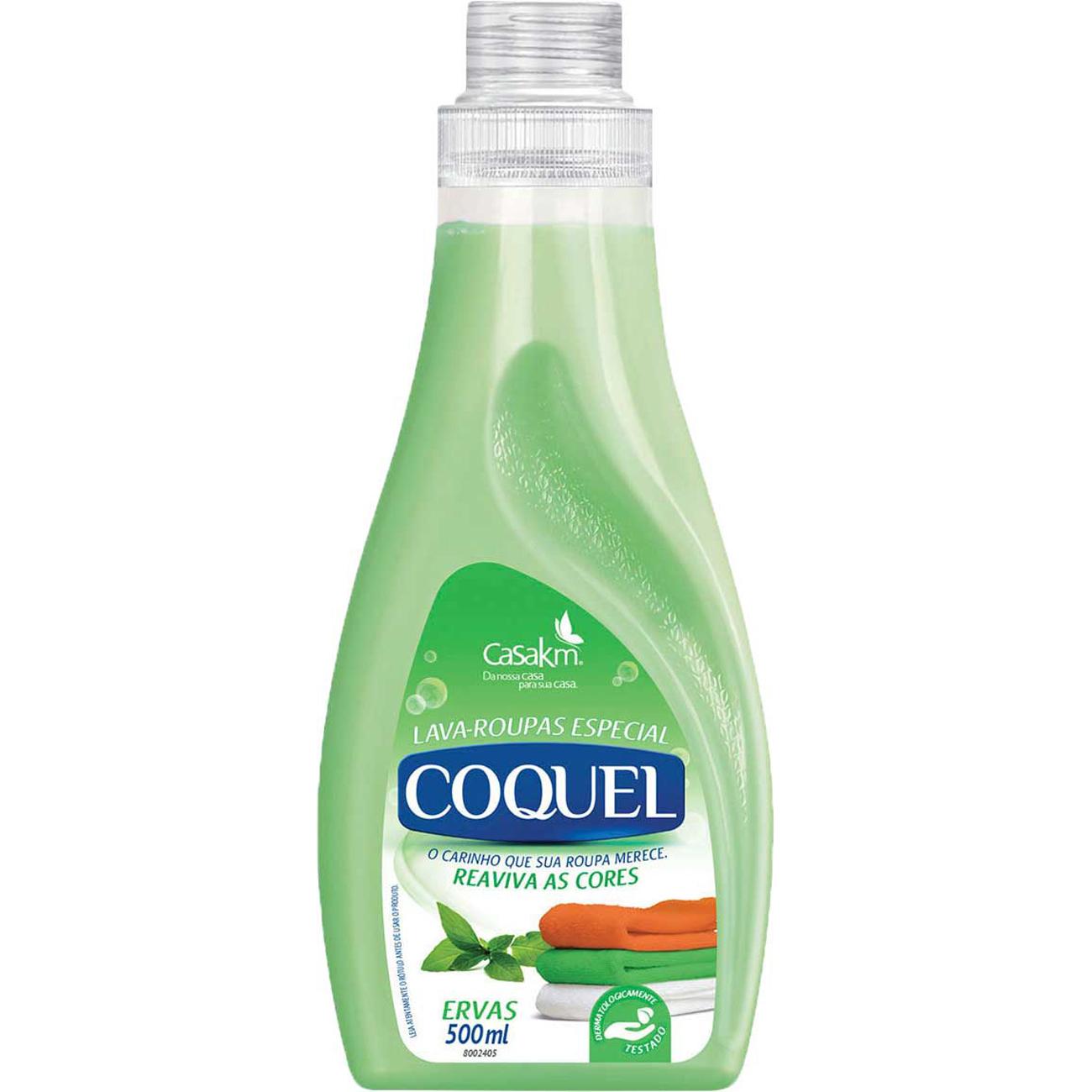 Lava Roupa Liquido Coquel Erva Doce 500Ml