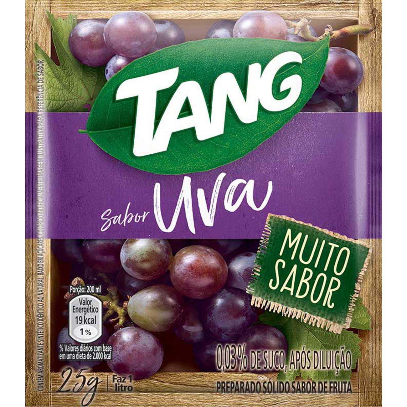 Refresco em Po Tang Uva 25G