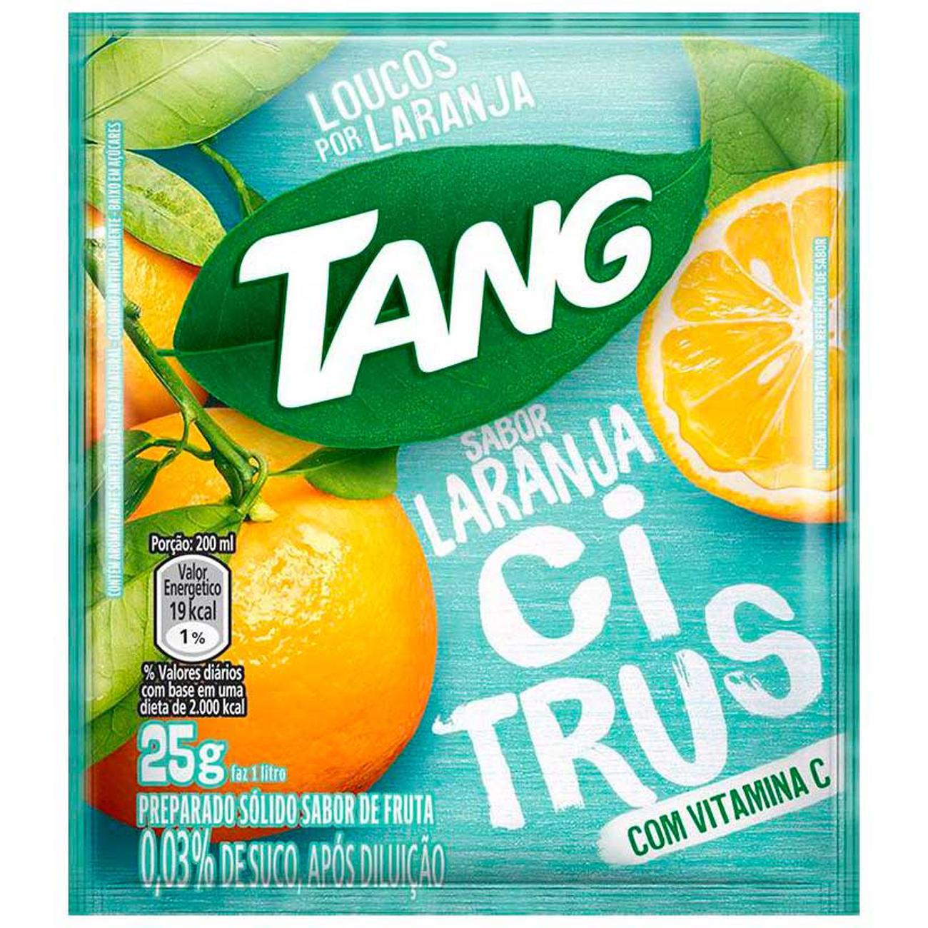 Bebida em Pó TANG Laranja Citrus 25g
