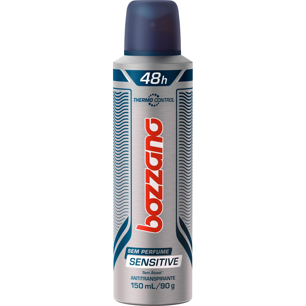 Desodorante Aerosol Bozzano Sensitive 90G