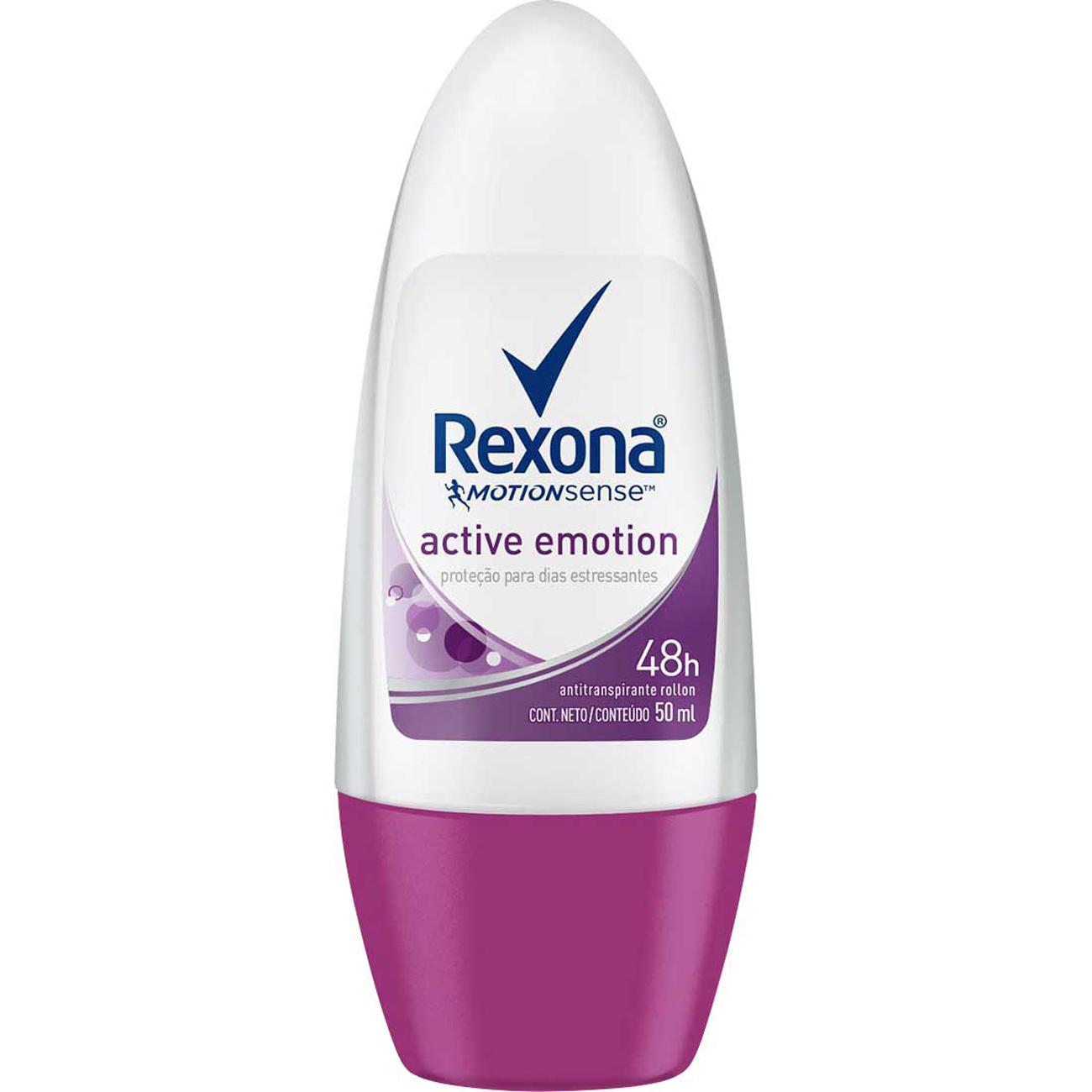 Desodorante Antitranpirante Roll-On Rexona Fem Act Emotion
