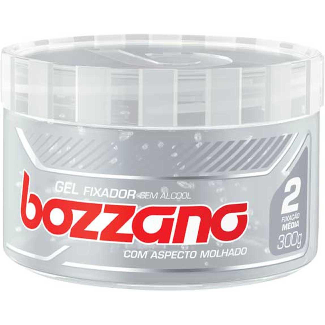 Gel Fixador Bozzano 300G Incolor Efeito Molhado
