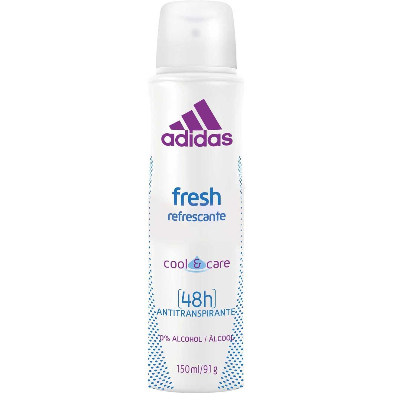 Desodorante Aerosol Adidas Fem Fresh 150Ml