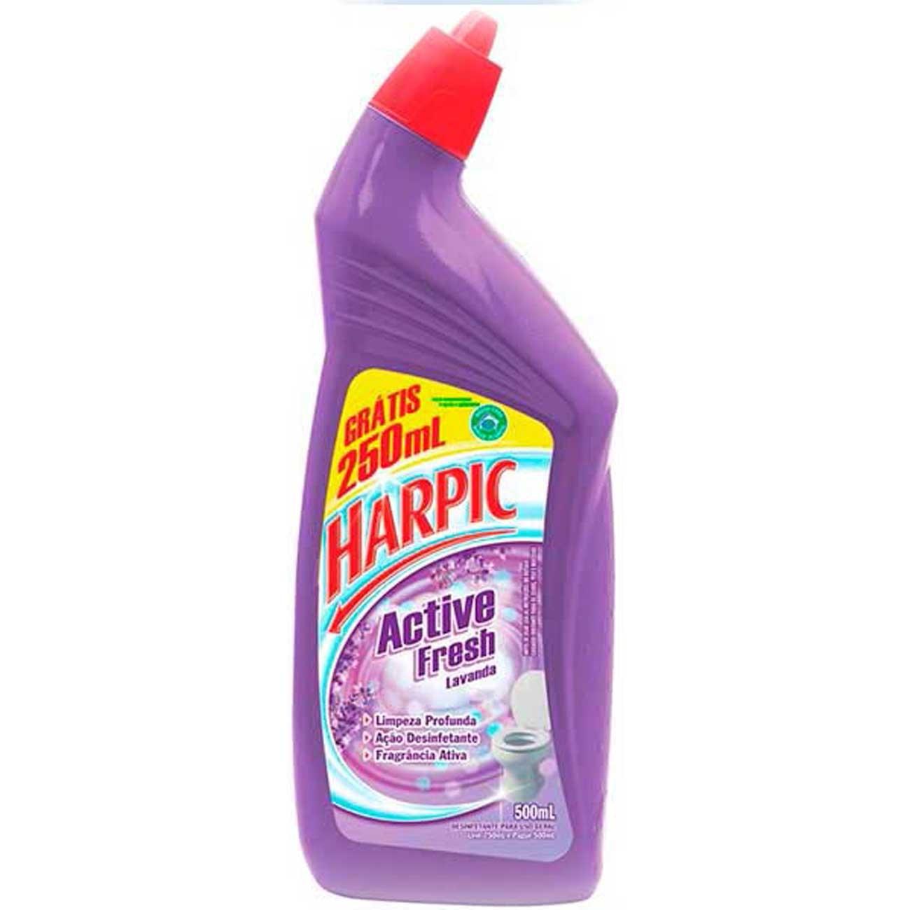 Desinfetante Sanitário Harpic Lv750Ml Pg500Ml