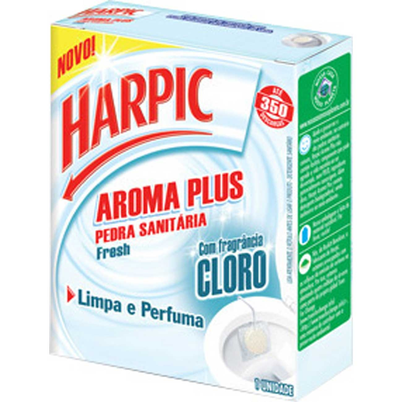 Bloco Sanitário Harpic 25G Active Fresh Rf Cloro