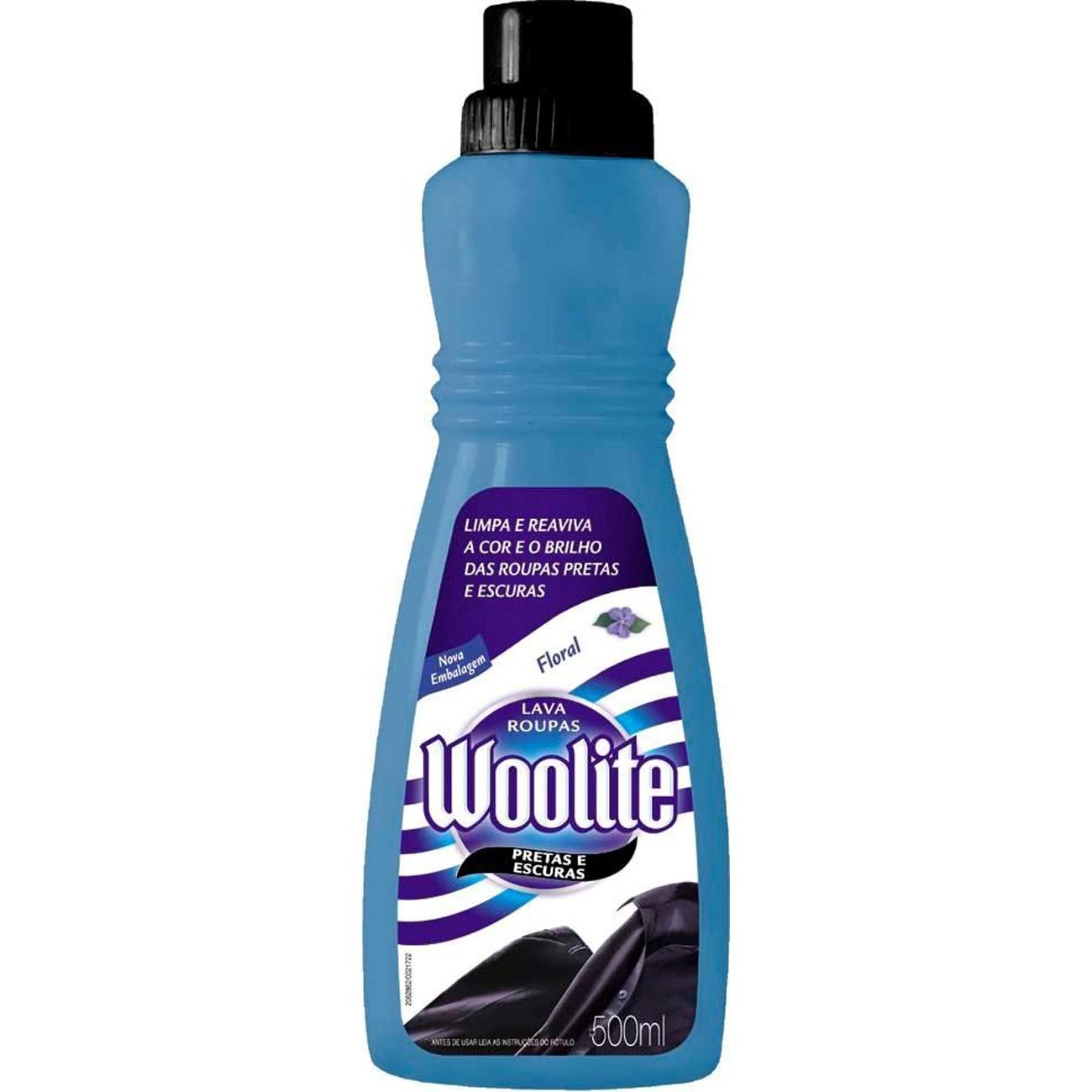 Lava Roupa Líquido Woolite 450Ml Pretas/Escuras