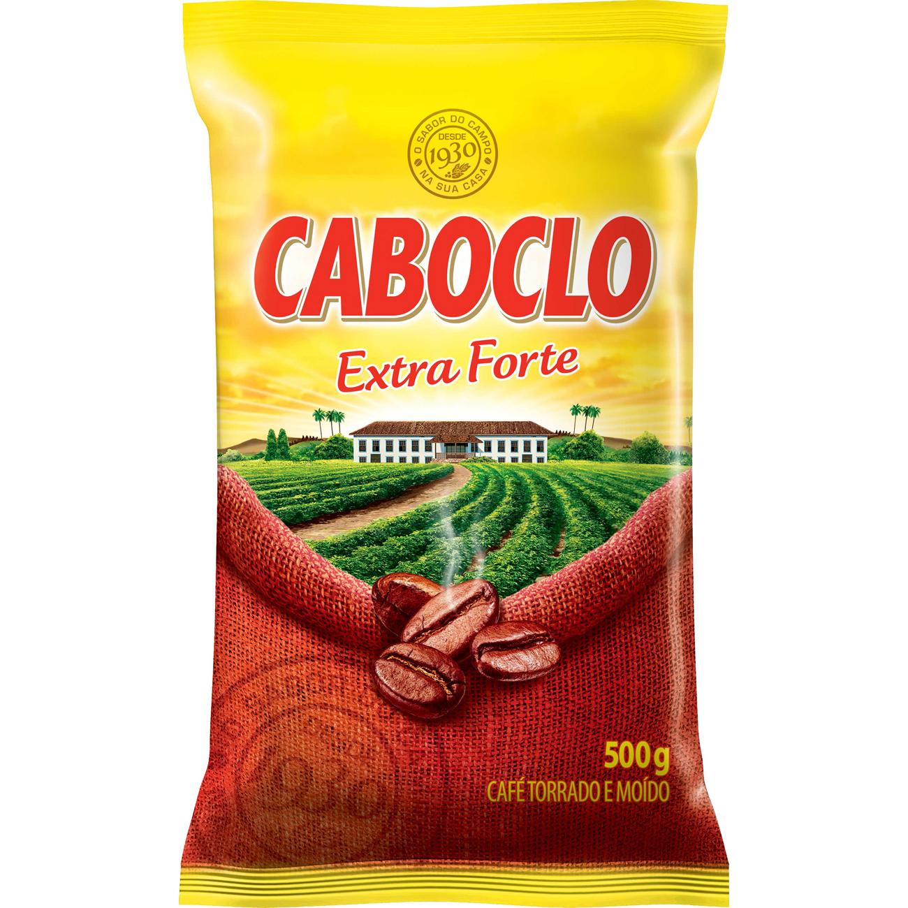Cafe Caboclo 500G Extra Forte Almofada
