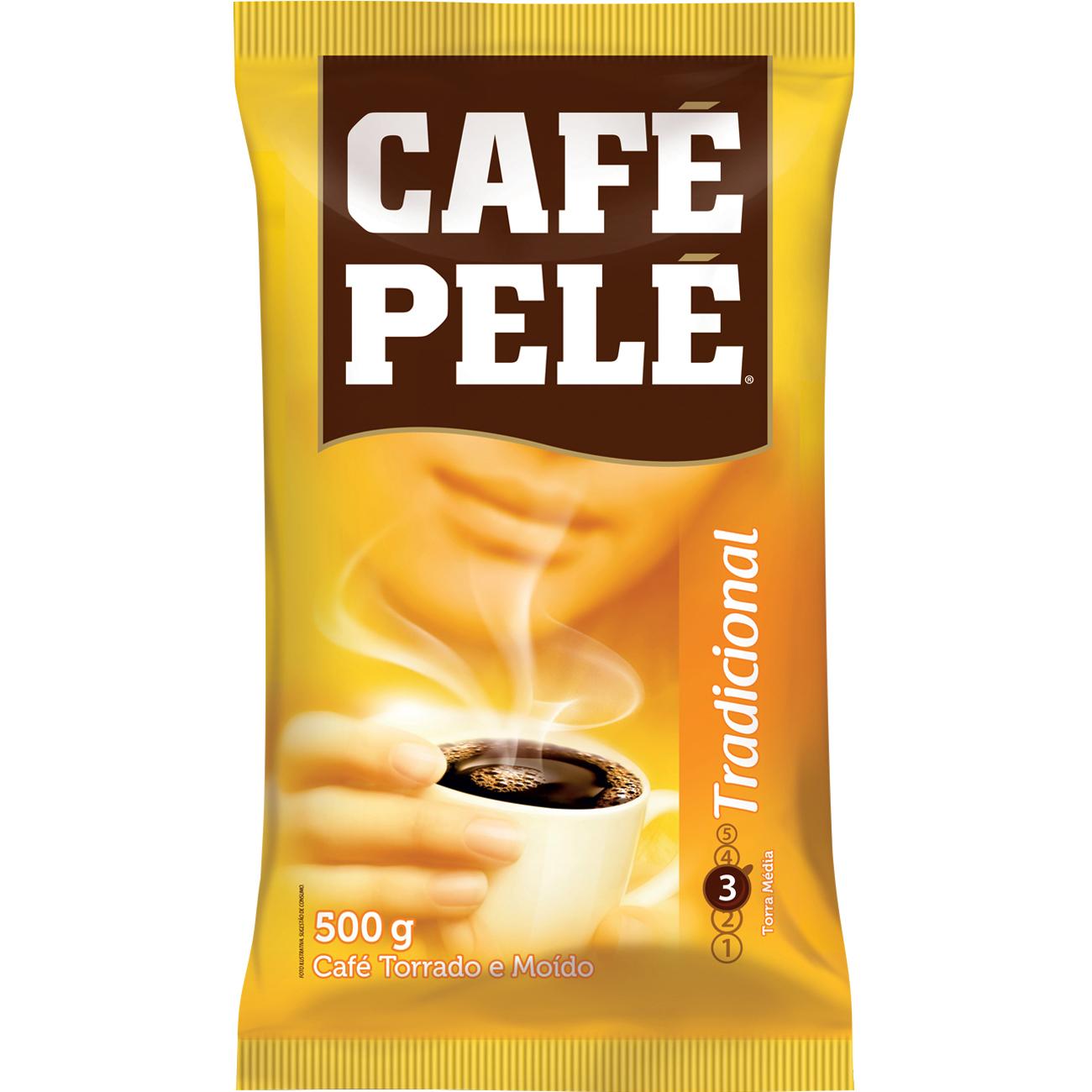 Cafe Pele 500G Almofada Trad