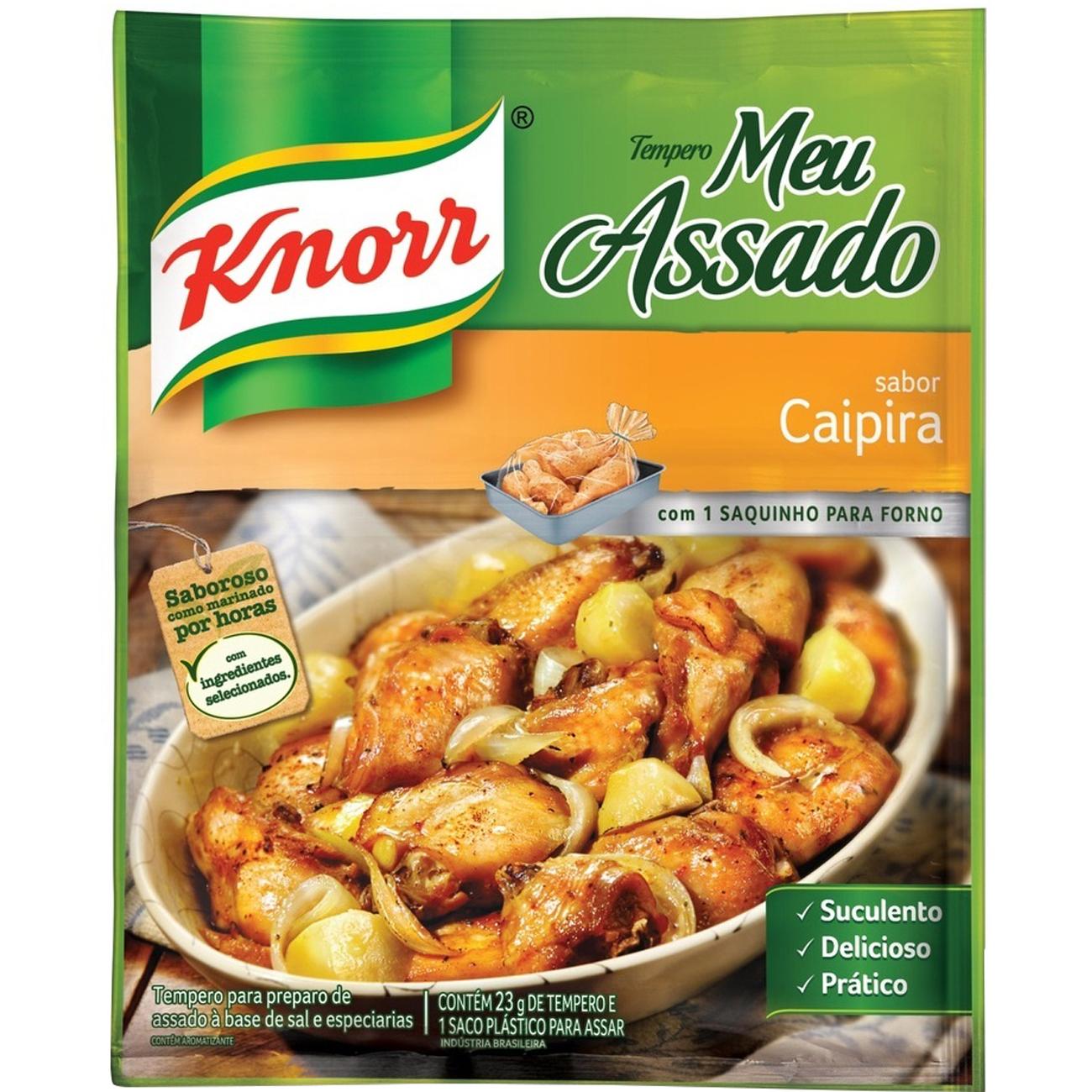 Tempero Knorr Meu Assado Caipira 23G