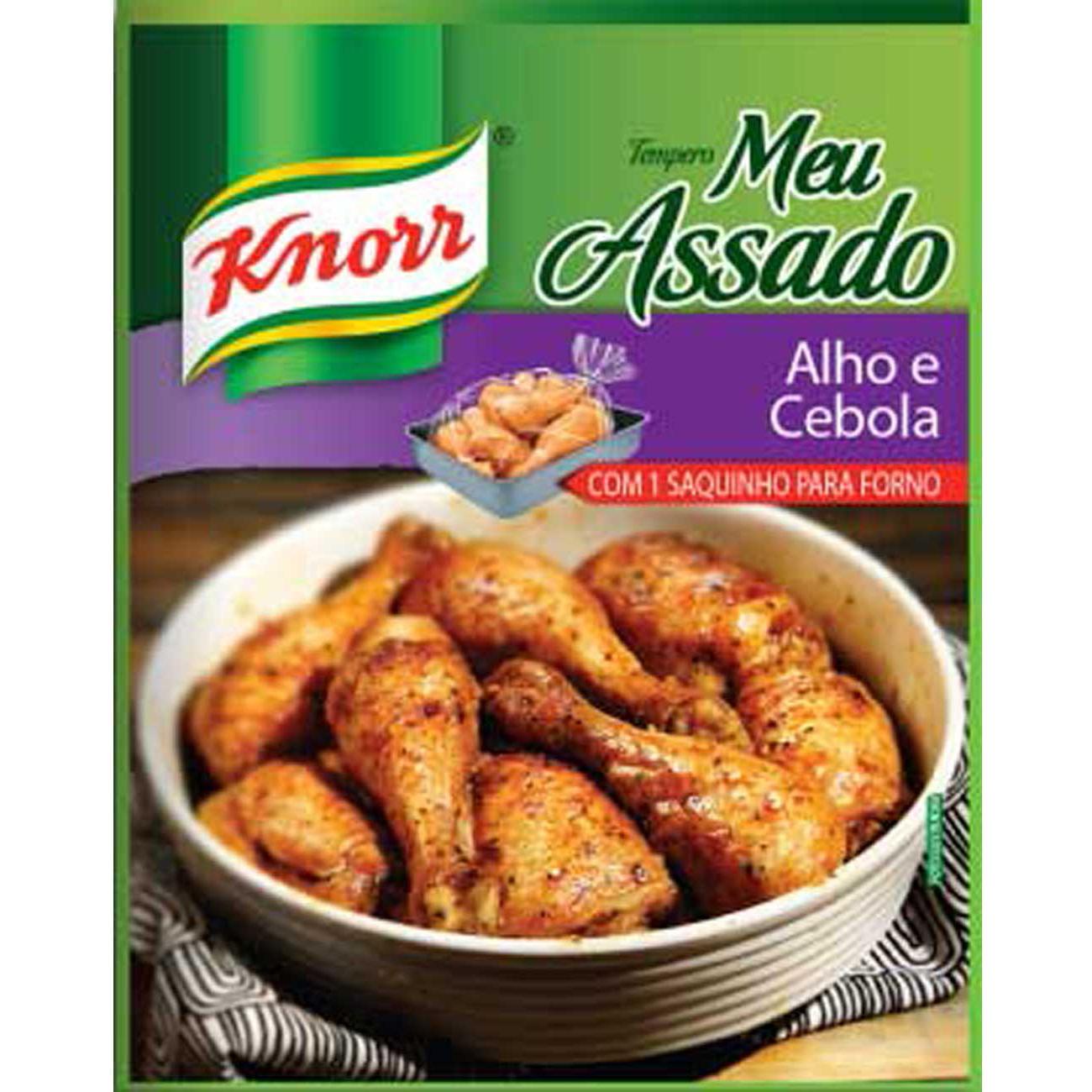 Tempero Knorr Meu Assado Cebola E Alho 25G