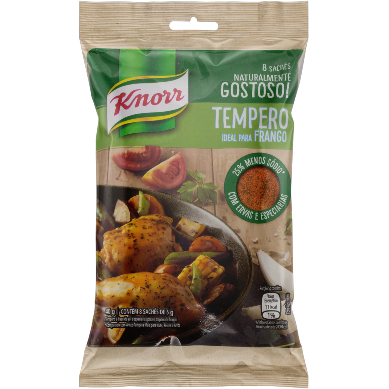 Tempero Knorr Ideal Para Frango 40G