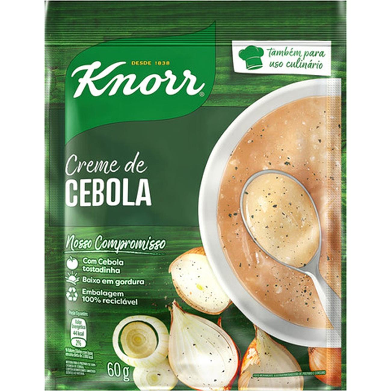 Sopa Knorr Creme de Cebola 60G