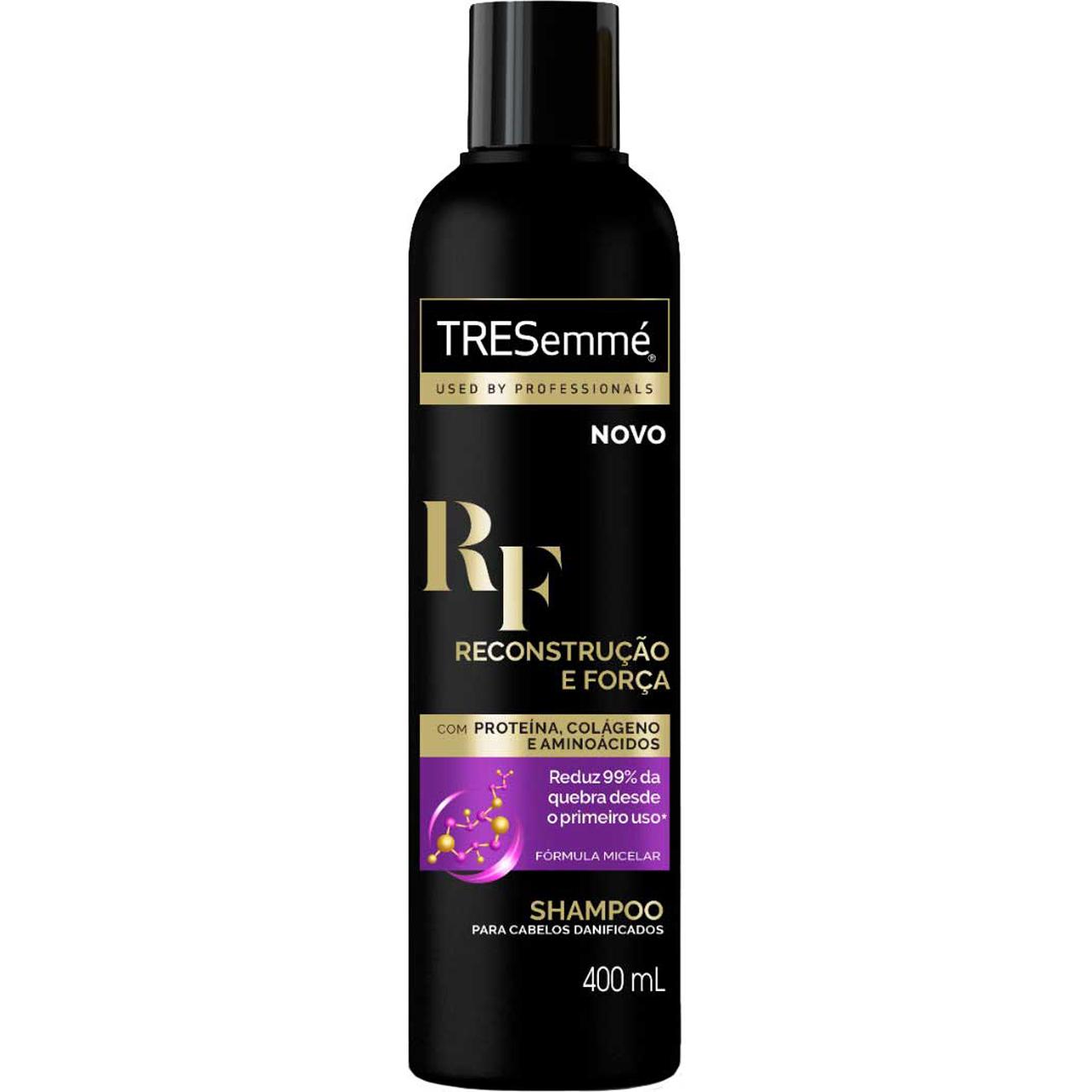 Shampoo Tresemme Reconstrucao E Forca 400Ml