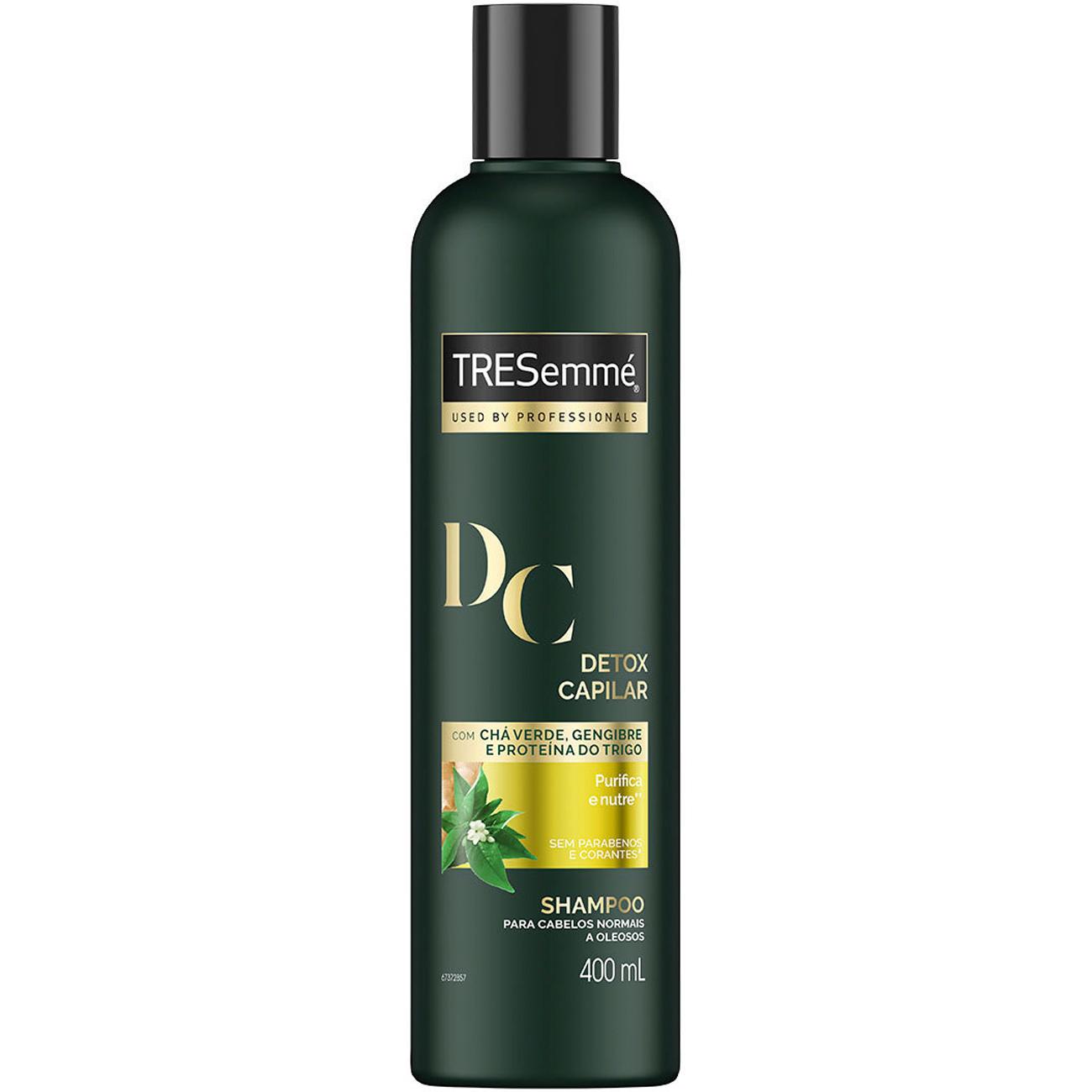 Shampoo Tresemme Detox Capilar 400Ml