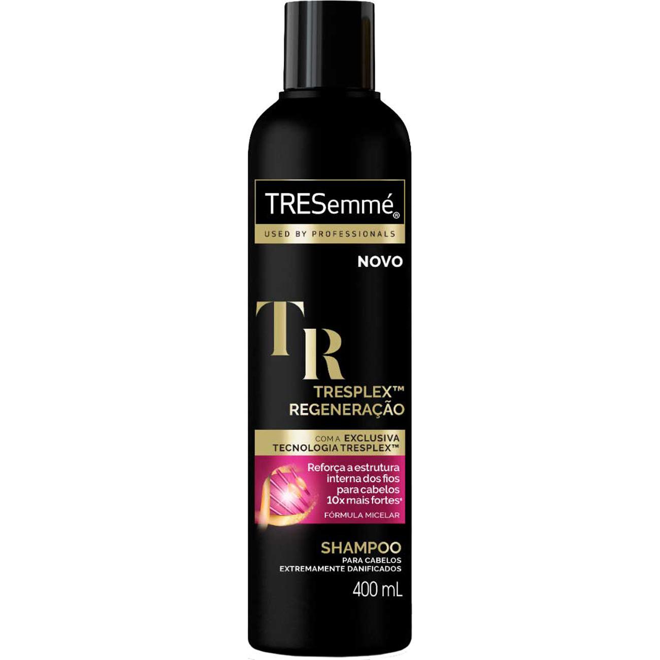 Shampoo Tresemme Blindagem Platinum 400Ml