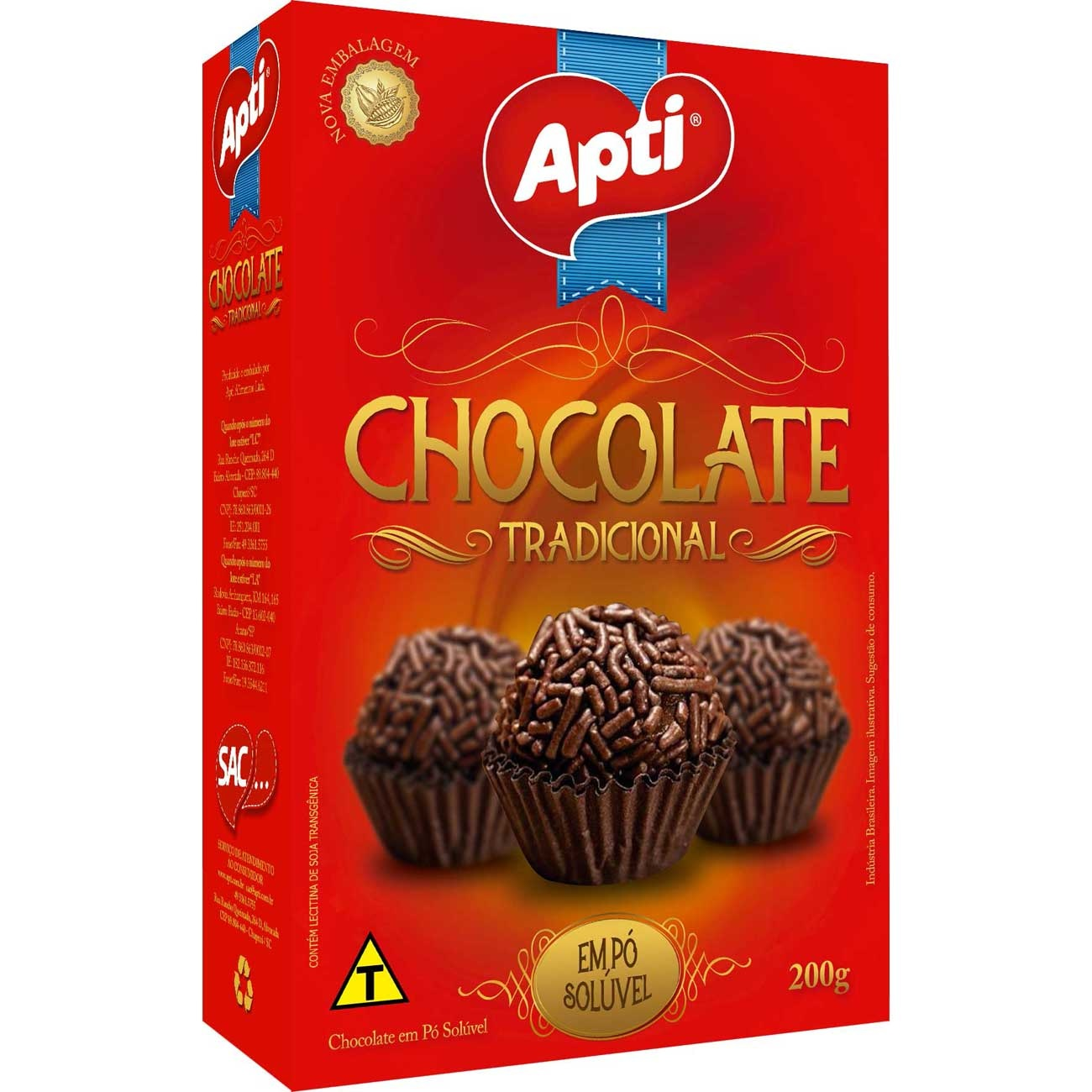 Chocolate Po Apti 200G