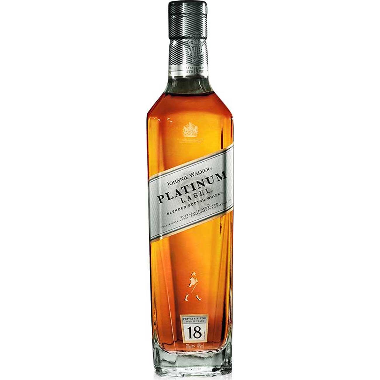 Whisky Johnnie Walker Platinum 750Ml