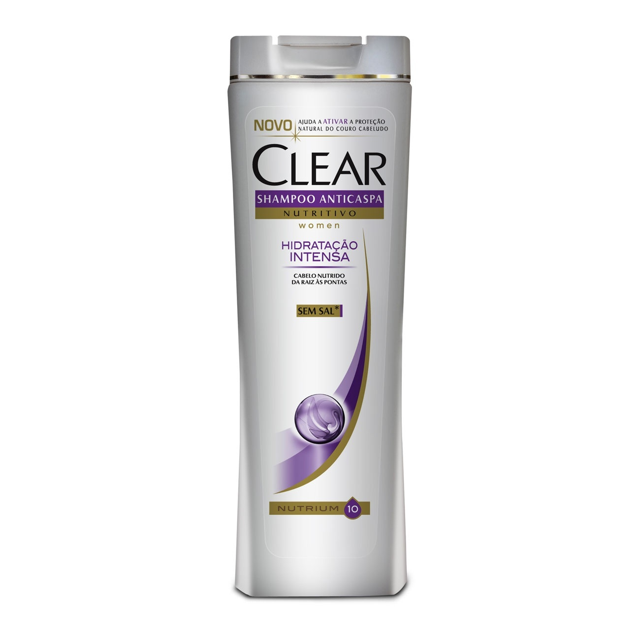 Shampoo Anticaspa Clear Women Hidrata��o Intensa 200Ml