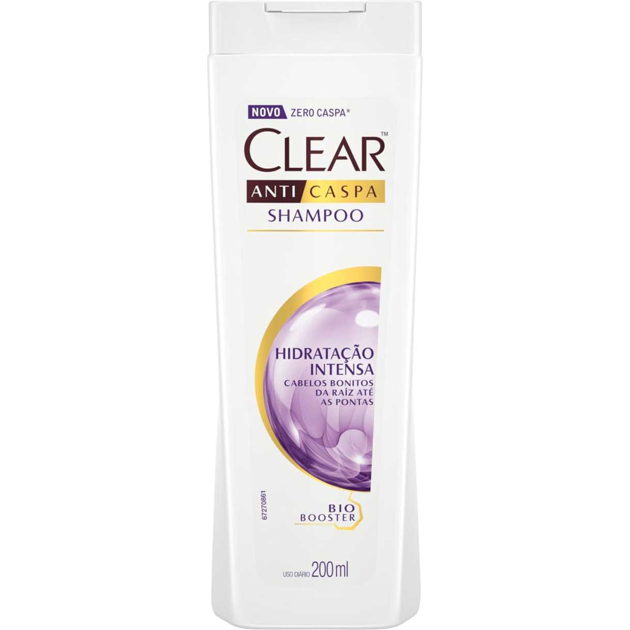 Shampoo Anticaspa Clear Women Hidratacao Intensa 200Ml