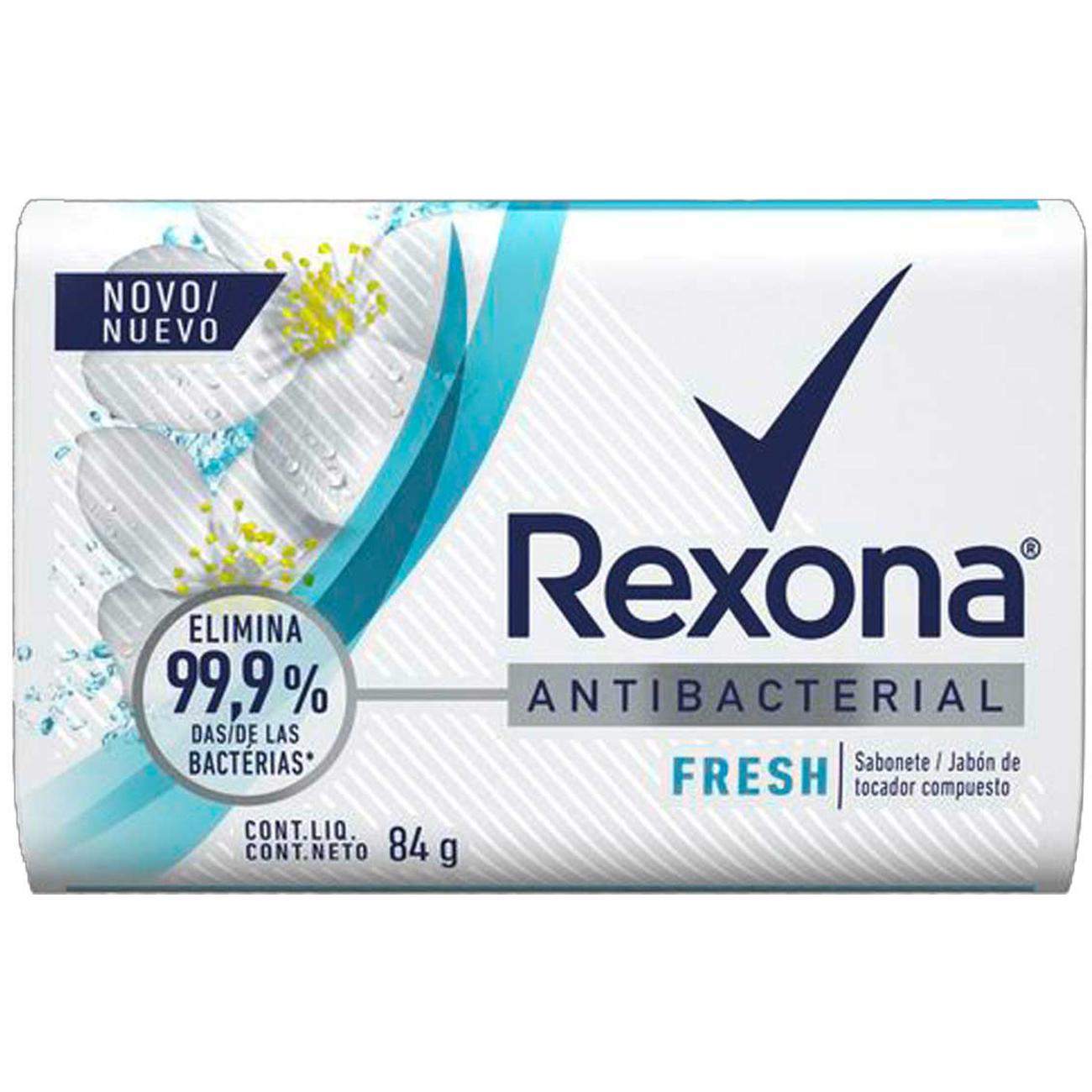 Sabonete em Barra Antibacteriano Rexona 84G