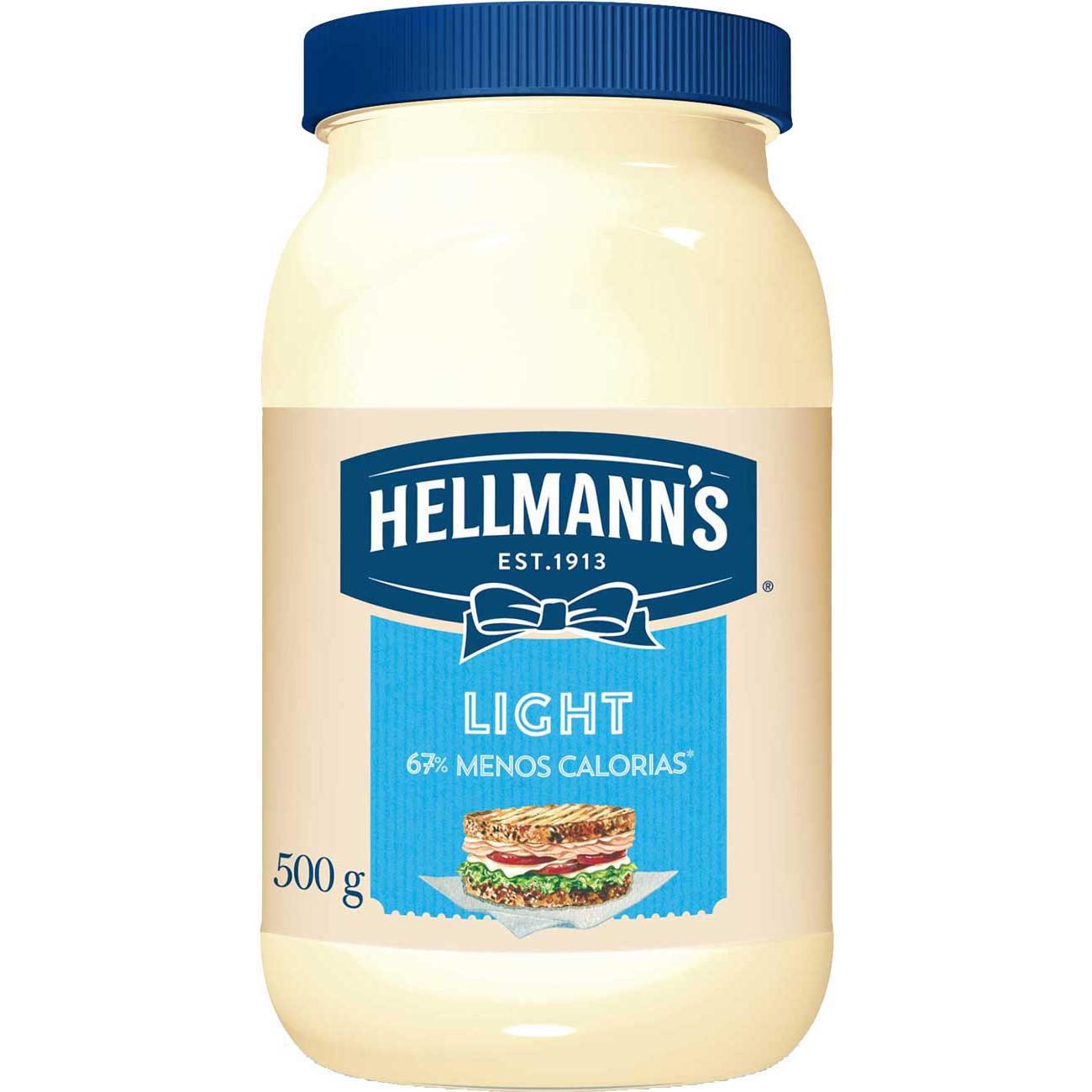 Maionese Hellmanns Light 500G