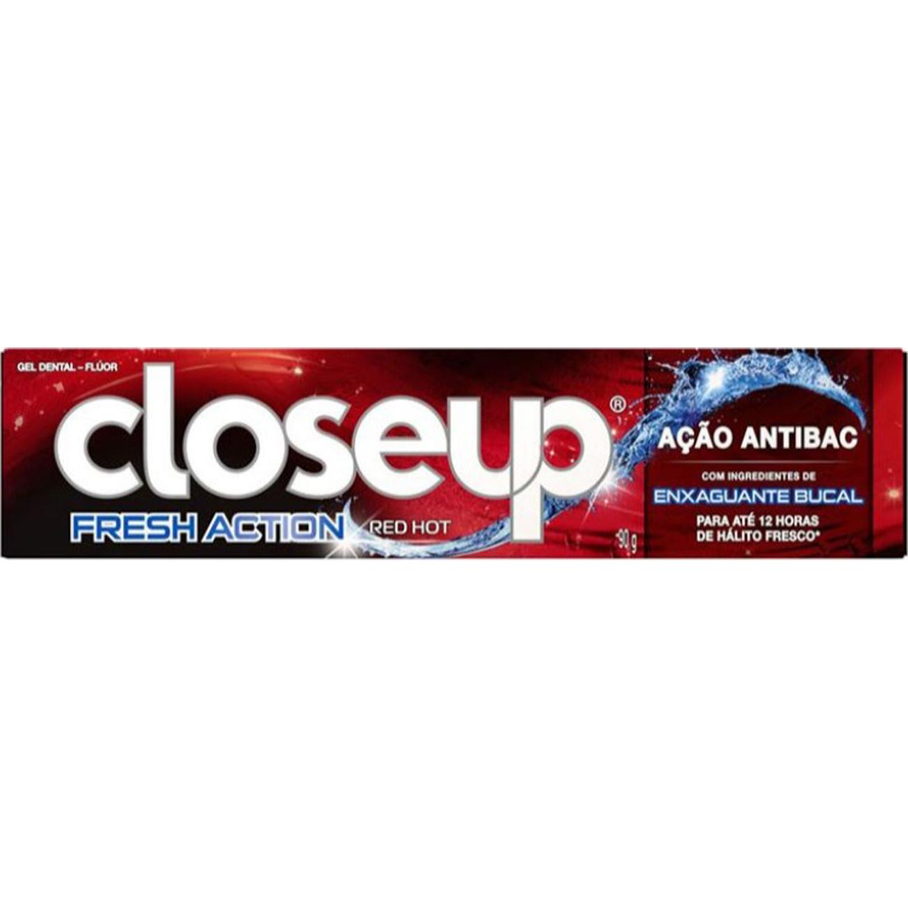 Gel Dental Close Up Acao Profunda Red Hot 90G