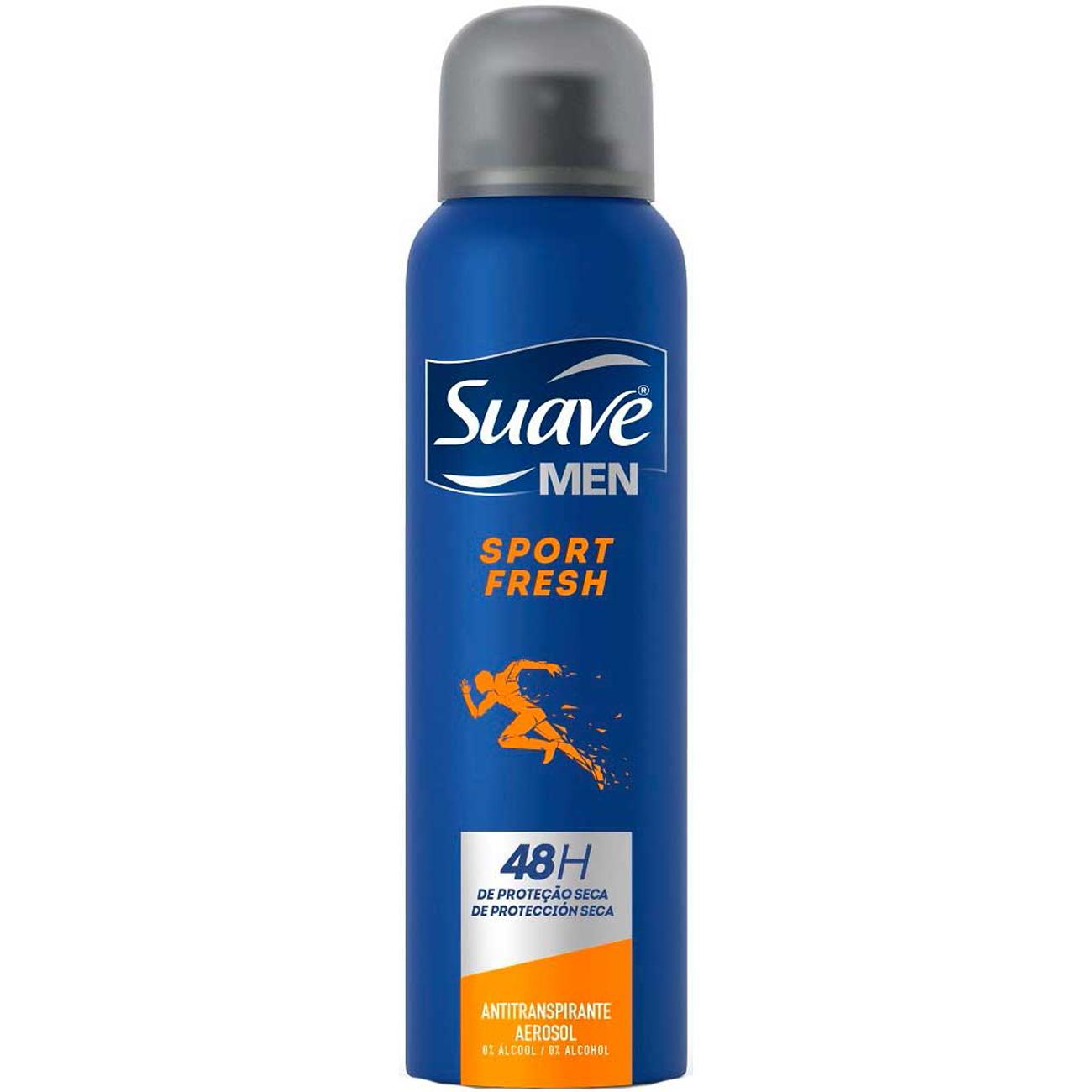 Desodorante Antitranspirante Suavesport Fresh 150Ml