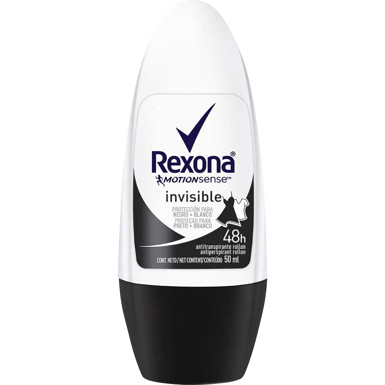 Desodorante Antitranspirante Roll-On Rexona Crystal 50Ml