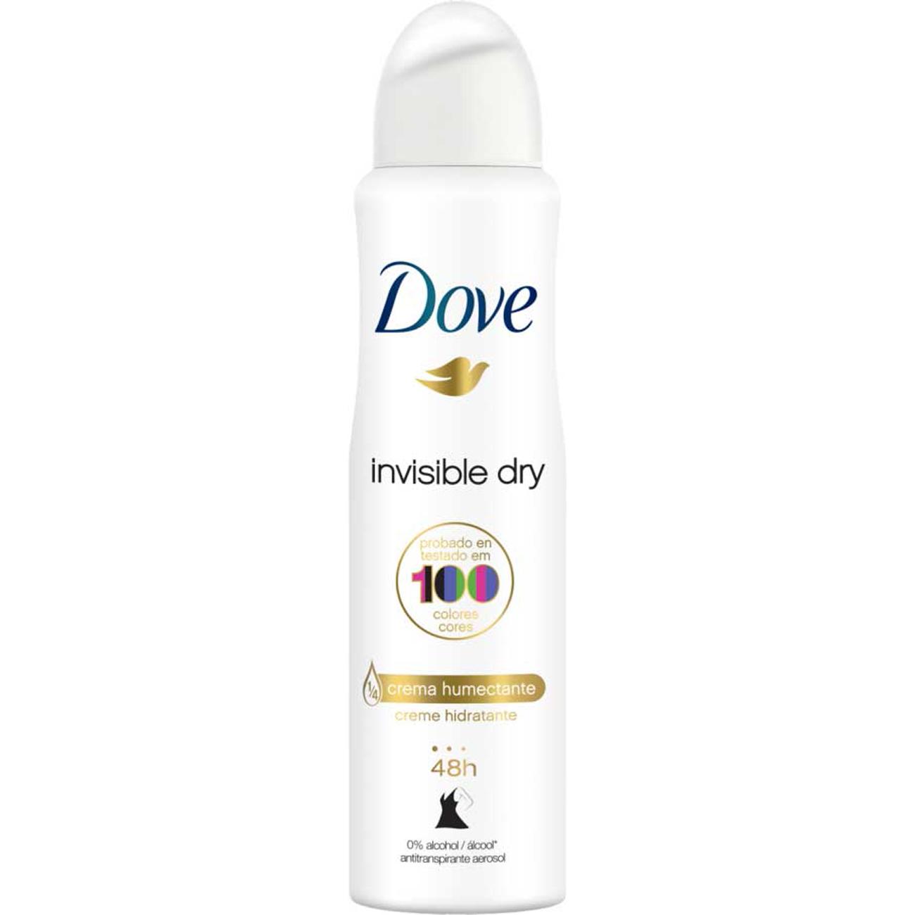 Desodorante Antitranspirante Aero Dove Invisible Dry 89G