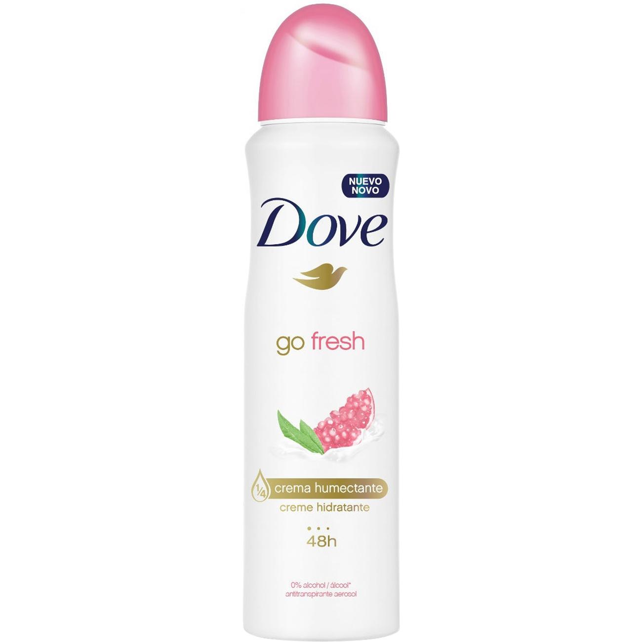 Desodorante Antitranpirante Aero Dove Go Fresh Roma E Verb