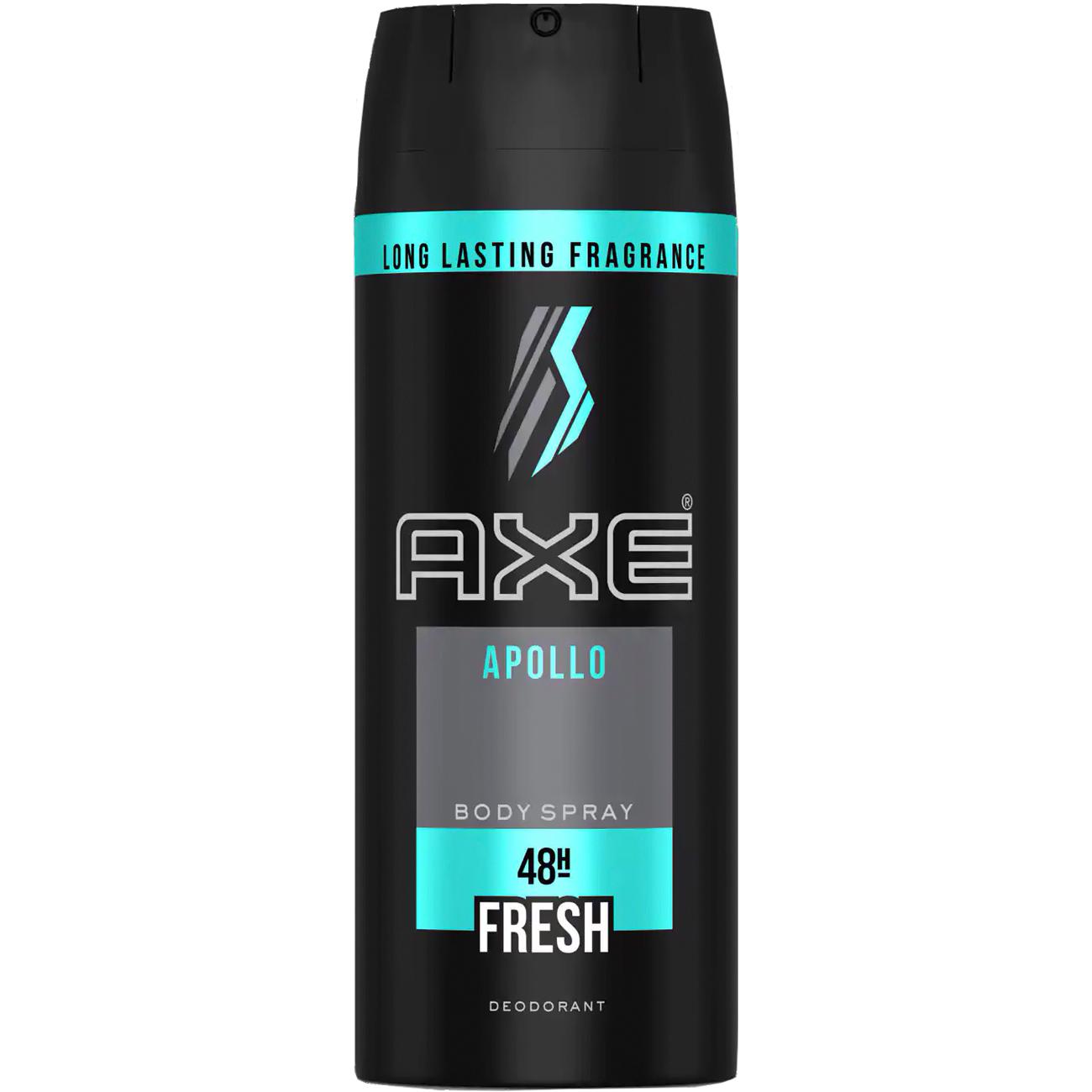 Desodorante Aero Fragrancia Para O Corpo Axe Apollo
