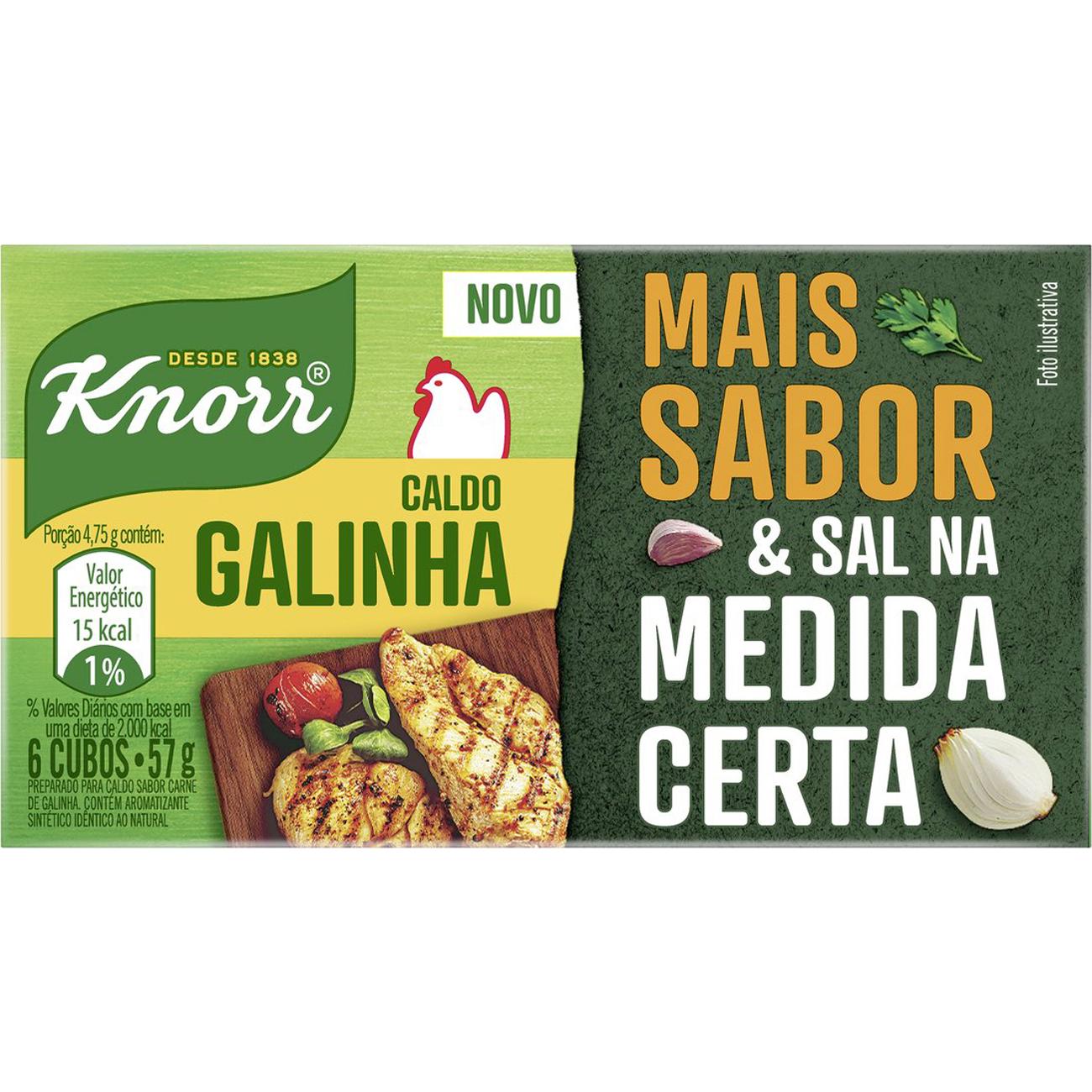 Caldo Knorr Galinha 57G