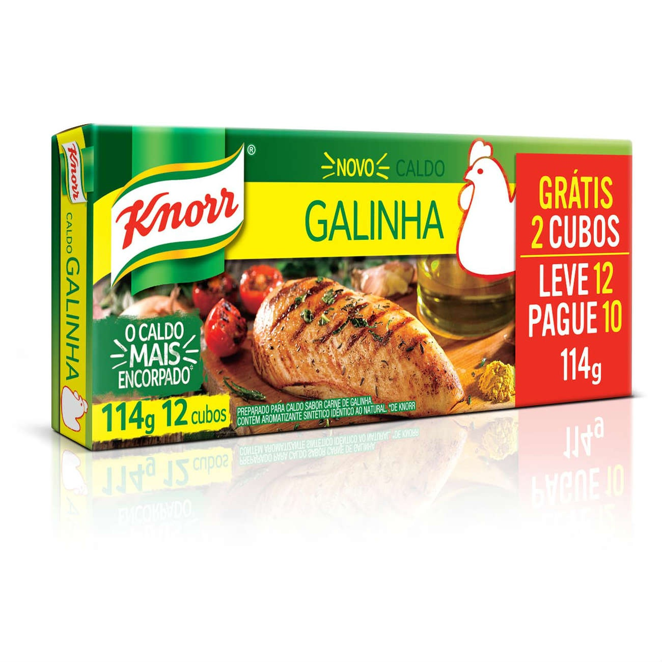 Caldo Knorr Carne L12 P10 114G