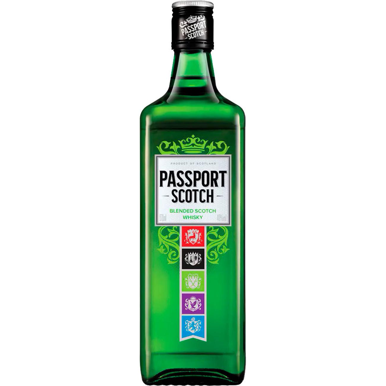 Whisky Passport 670Ml