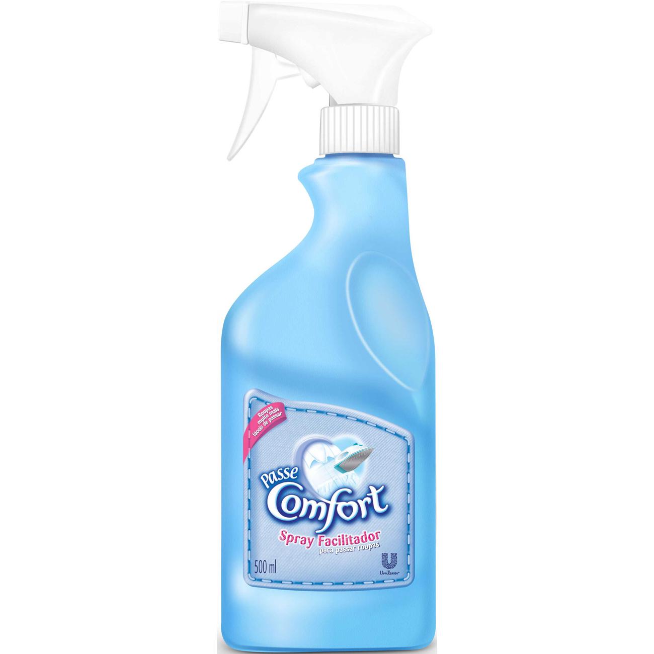 Spray Facilitador Passa Roupas Comfort Gatilho 500Ml