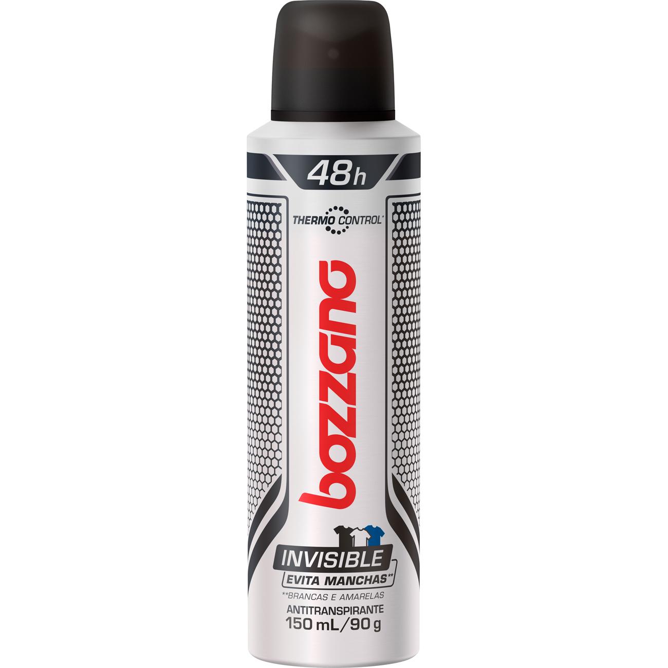 Desodorante Aero Bozzano Invisible 90G