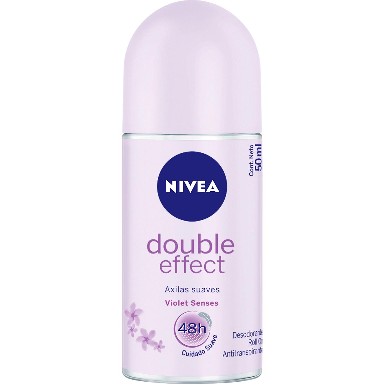 Desodorante Roll-On Nivea Double Effect 50Ml