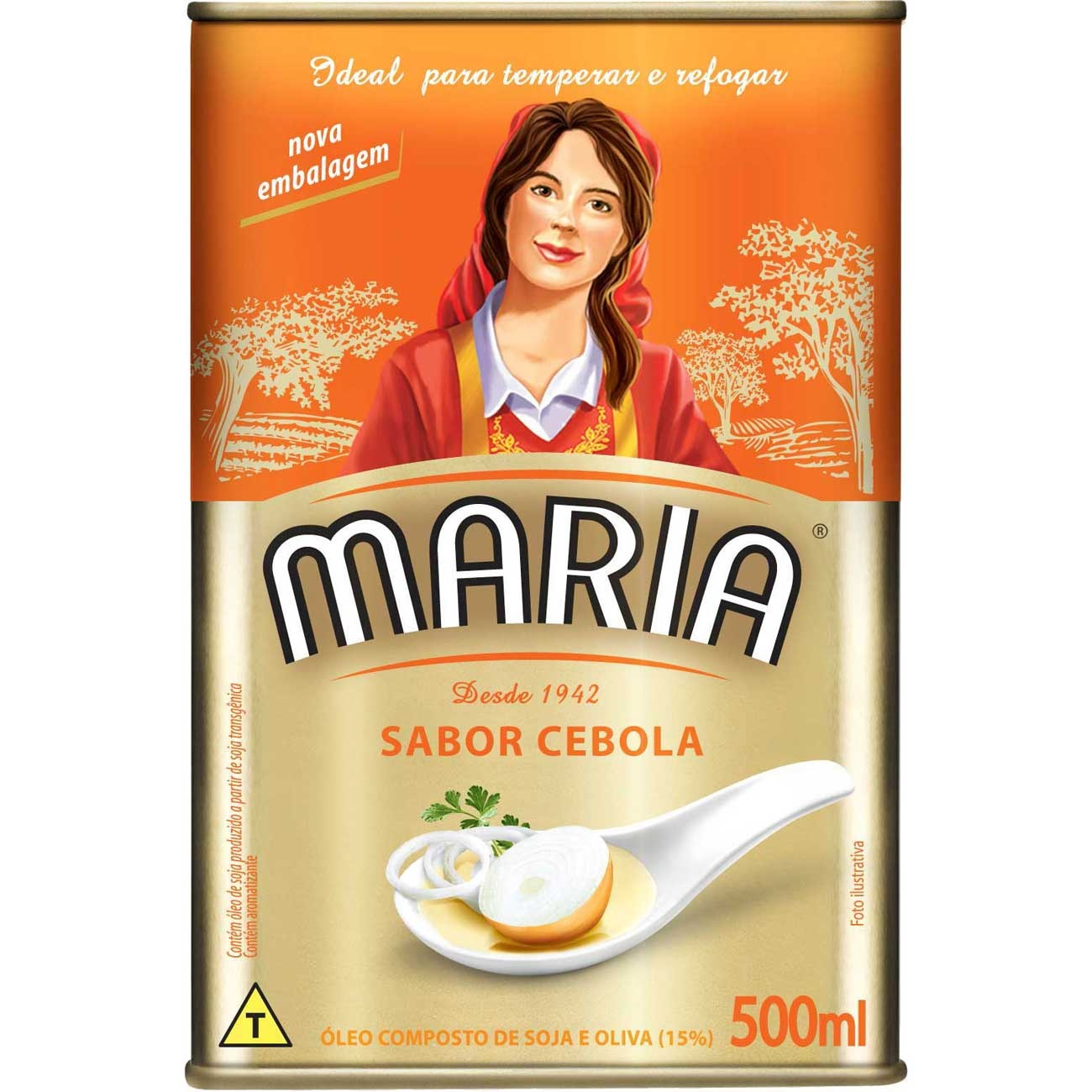 Oleo Composto Maria Cebola 500ml